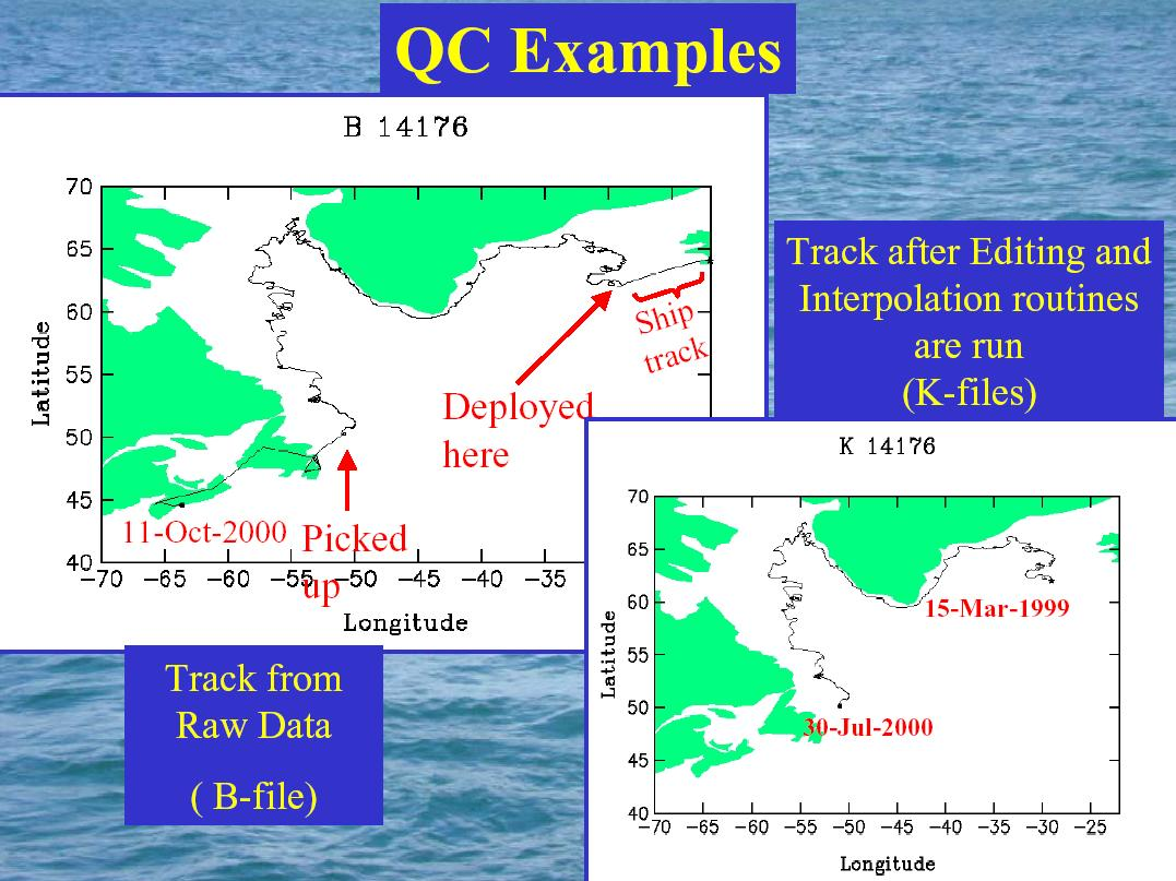Phod The Global Drifter Program Whats A Marlin 60 Parts Diagram Next Dac Identifies Drifters Which Have Lost Their Drogues This Is Done Using Submergence Or Tether Strain Observations Drogue Dates Are
