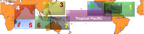 Tropical Cyclone Basins