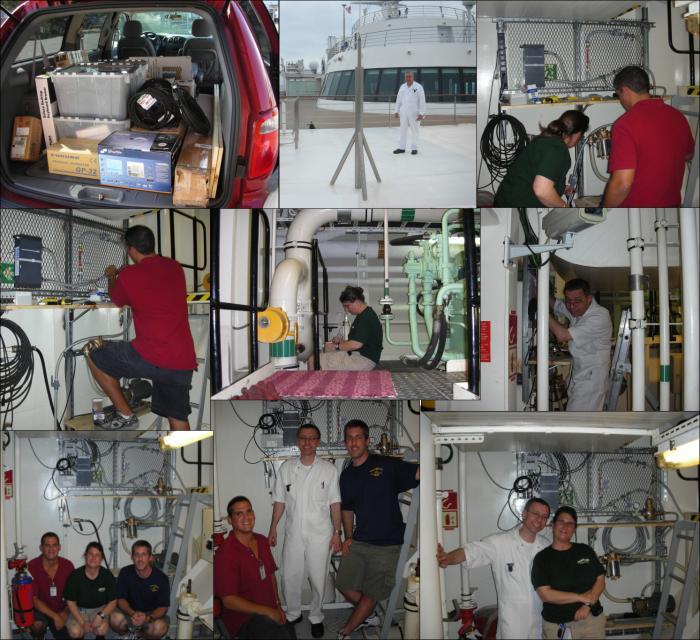 Thermosalinograph - MV Explorer of Semester At Sea Program ...