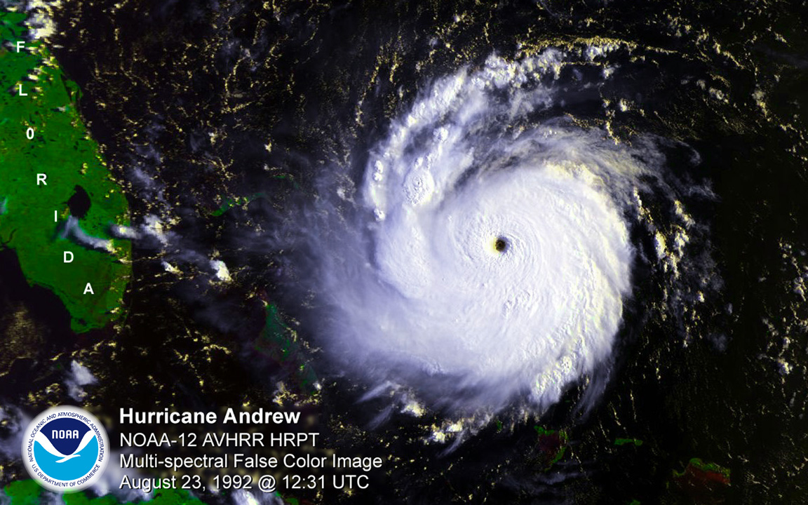Hurricane Katrina Satellite Noaa