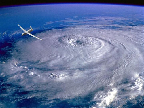 NOAA aircraft will fly into hurricanes and collect data to improve forecasting. Image Credit: NOAA