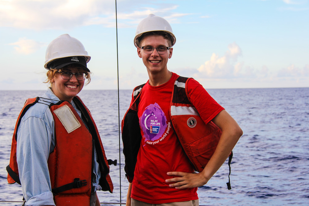 Summer interns gain valuable field work experience. Image credit: NOAA