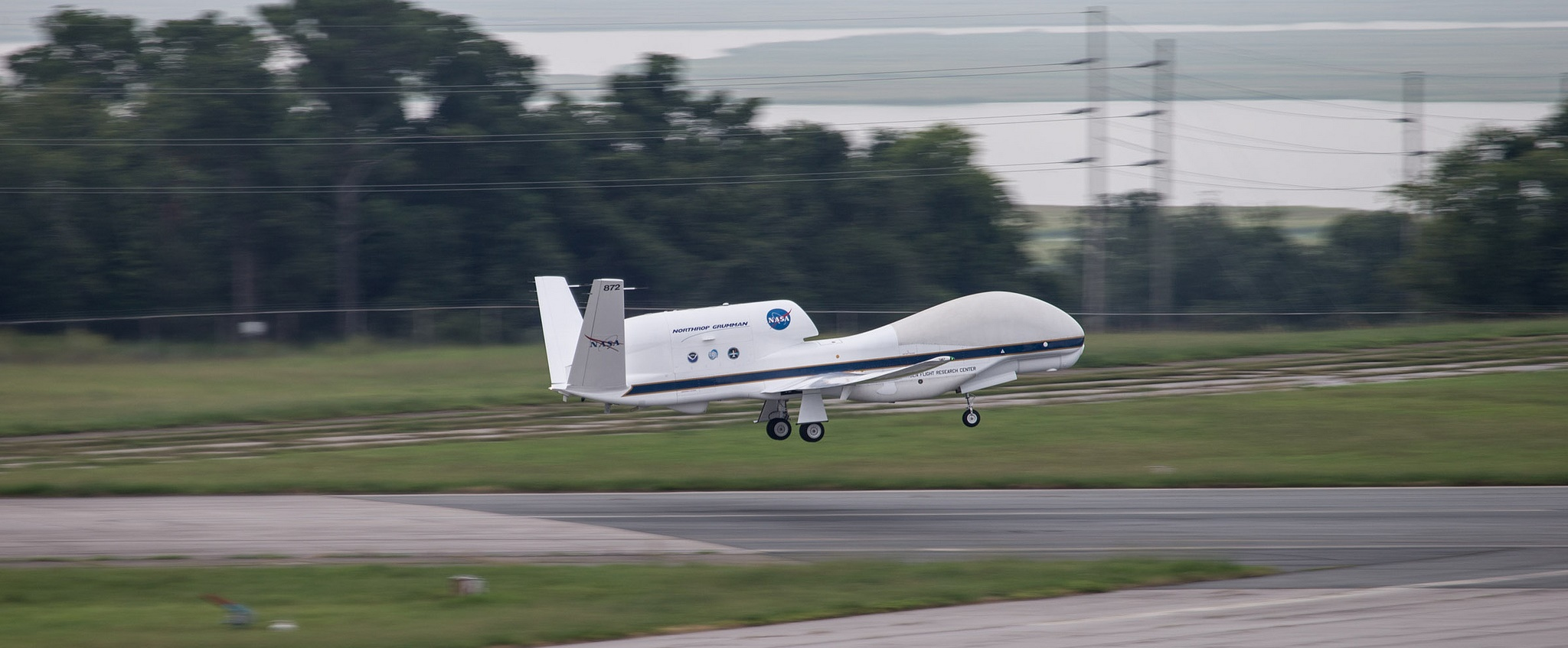 NASA's Global Hawk aircraft will carry multiple instruments to profile hurricanes during the 2015 field season. (Image Credit:NOAA)