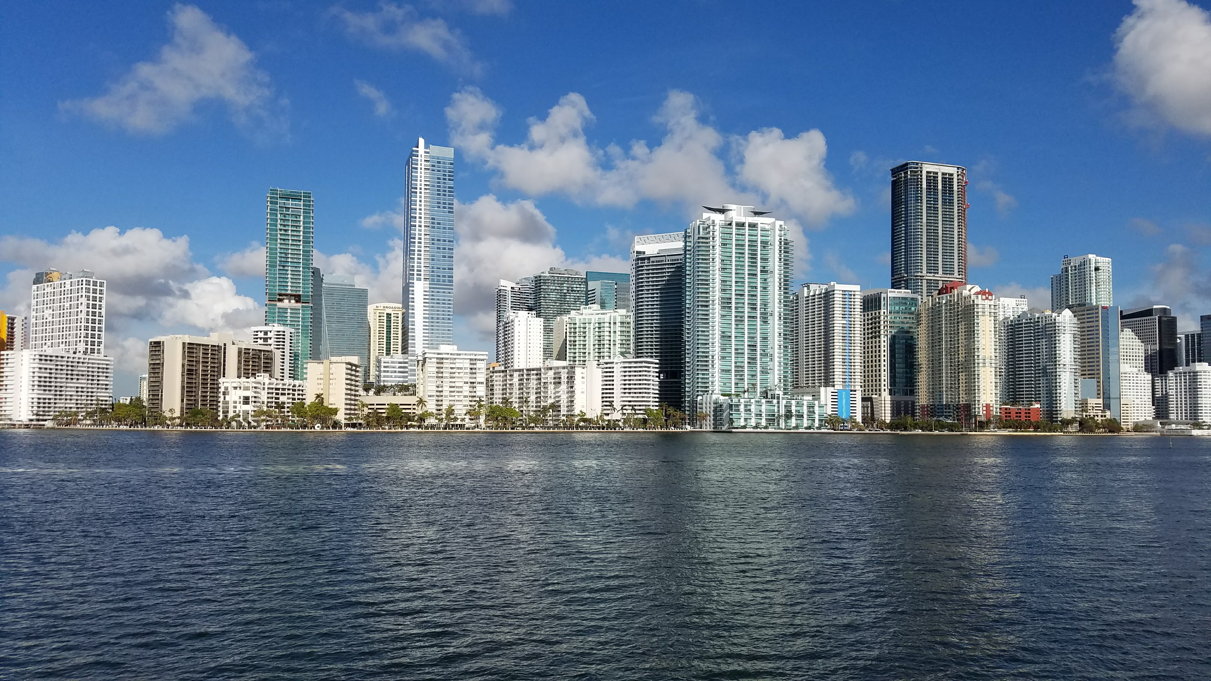 Miami from the R/V Walton Smith. Image credit: NOAA