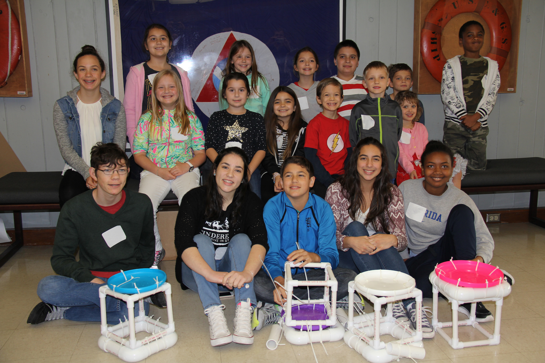 Participants in AOML's 2016 Bring Your Child to Work Day. Image credit: NOAA