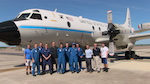 P3 crew on the ground at Avon Park. Image credit: NOAA