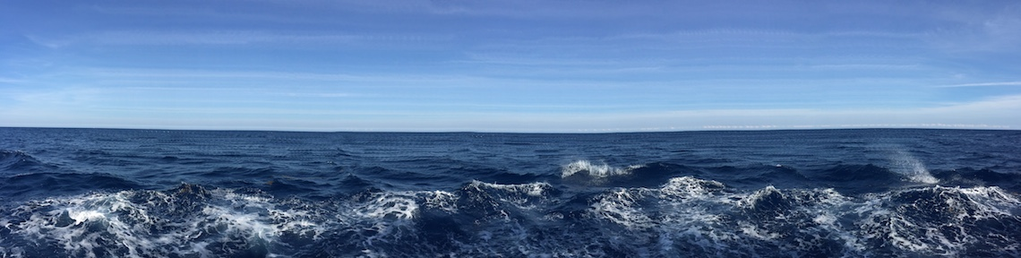 Panoramic view from R/V Endeavor. Image credit: NOAA