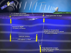 How an Argo float works. Image Credit: NOAA.