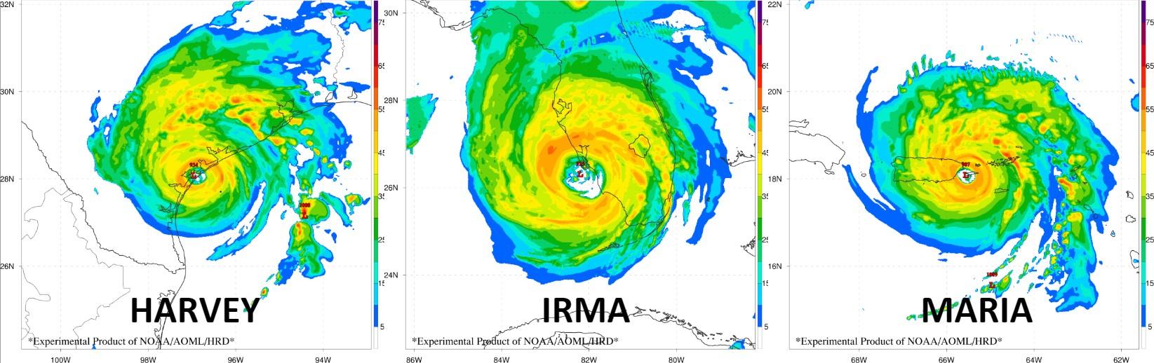 Simulated Radar Reflectivity from HWRF-B