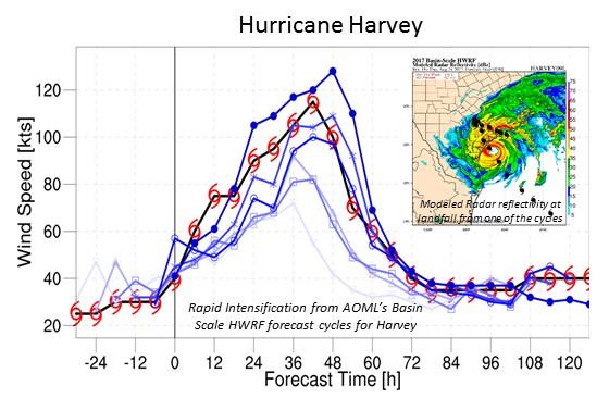 Hurricane Harvey Model Results
