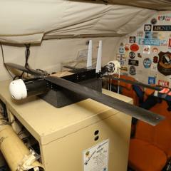 Coyote UAS aboard NOAA WP-3D Orion. (Credit: NOAA)