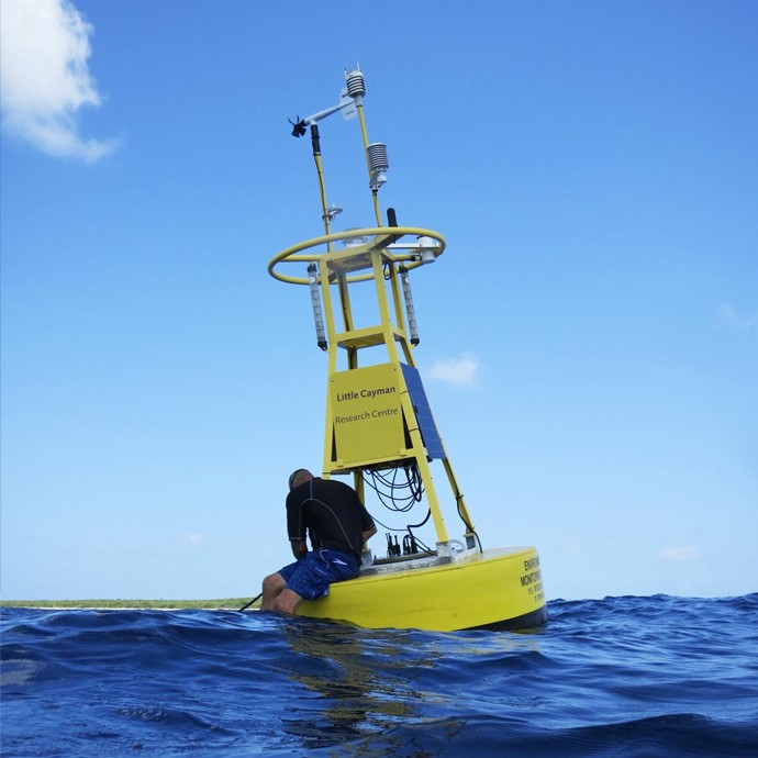 Little Cayman CREWS Station. Image credit: NOAA