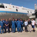 P3 crew on the ground at Avon Park. Image credit: NOAA