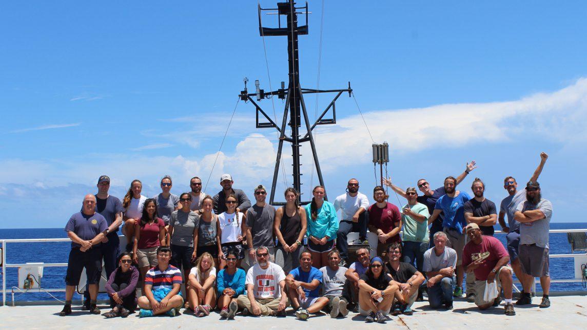 The GOMECC-3 science team. Image credit: NOAA